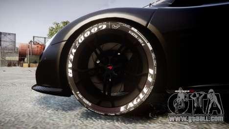 McLaren 650S Spider 2014 [EPM] Goodyear for GTA 4 back view