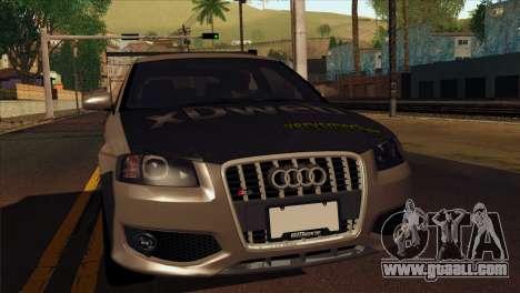 Audi S3 Tuned 2007 for GTA San Andreas