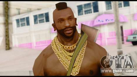MR T Skin v5 for GTA San Andreas third screenshot