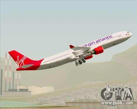 Airbus A330-300 Virgin Atlantic Airways for GTA San Andreas engine