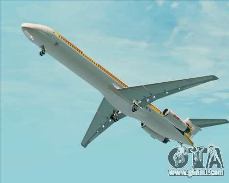 McDonnell Douglas MD-82 Iberia for GTA San Andreas engine