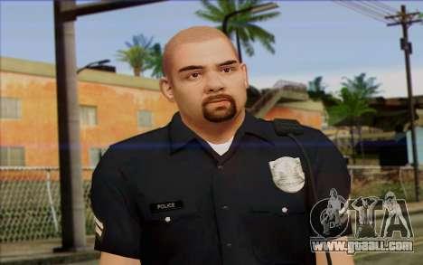 Police (GTA 5) Skin 2 for GTA San Andreas third screenshot