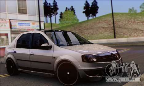 Dacia Logan Hoonigan Edition for GTA San Andreas