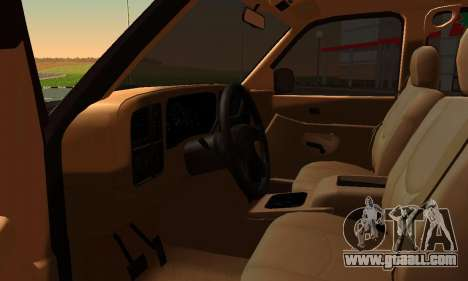 GMC Yukon XL ФСБ for GTA San Andreas back left view