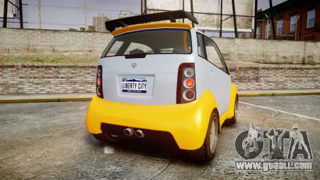 GTA V Benefactor Panto for GTA 4 back left view