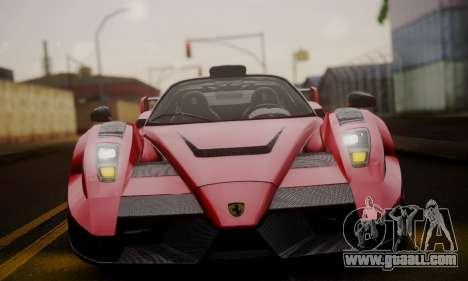 Ferrari Gemballa MIG-U1 for GTA San Andreas side view