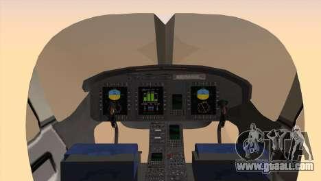Bell 429 v3 for GTA San Andreas back left view