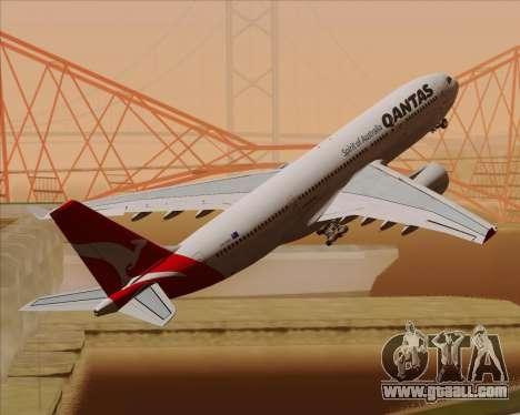 Airbus A330-200 Qantas for GTA San Andreas engine