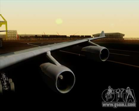 Airbus A340-313 Air China for GTA San Andreas interior