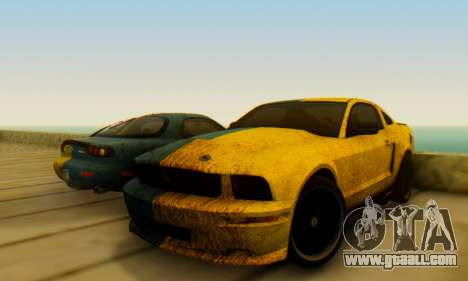 Ford Mustang Shelby Terlingua 2008 UA PJ for GTA San Andreas