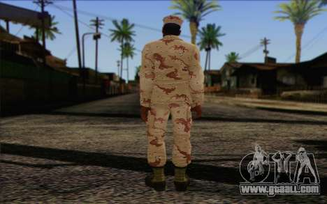California National Guard	 Skin 2 for GTA San Andreas second screenshot
