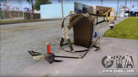 New Jetpack for GTA San Andreas forth screenshot