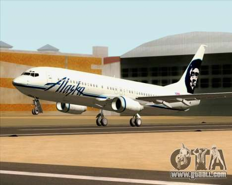 Boeing 737-890 Alaska Airlines for GTA San Andreas inner view