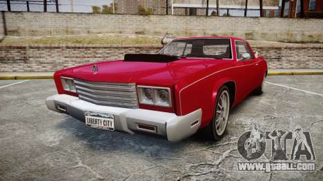 Albany Buccaneer Modified for GTA 4