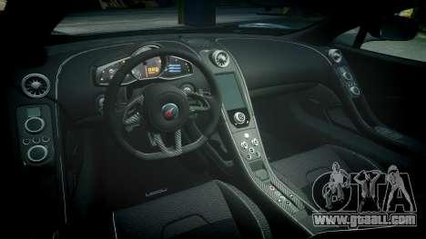 McLaren 650S Spider 2014 [EPM] Goodyear for GTA 4 inner view