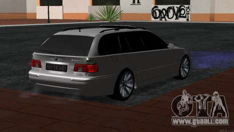 BMW 530d for GTA San Andreas left view
