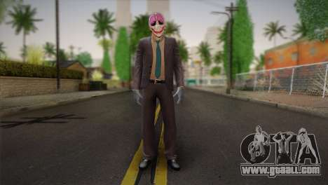 Hoxton From Pay Day 2 v1 for GTA San Andreas
