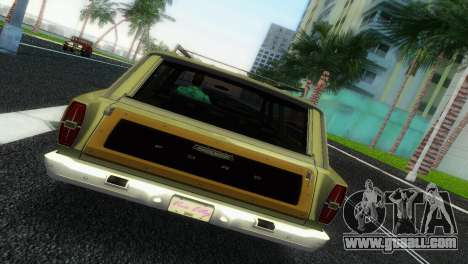 Ford Country Squire for GTA Vice City back left view