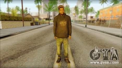 New Grove Street Family Skin v2 for GTA San Andreas