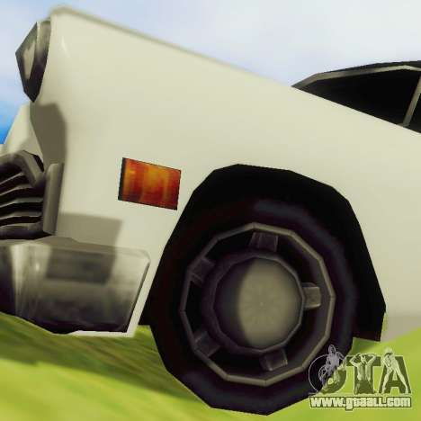 Cabbie Limousine for GTA San Andreas back view