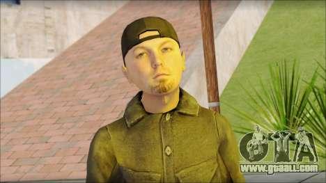 Fred Durst from Limp Bizkit v2 for GTA San Andreas third screenshot