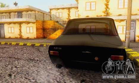 Dacia 1300 WRC Black Edition for GTA San Andreas left view