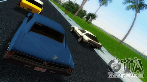 Chevrolet Chevelle SS 1967 for GTA Vice City right view