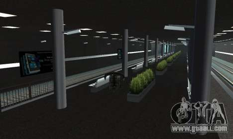 A new metro station in San Fierro for GTA San Andreas forth screenshot