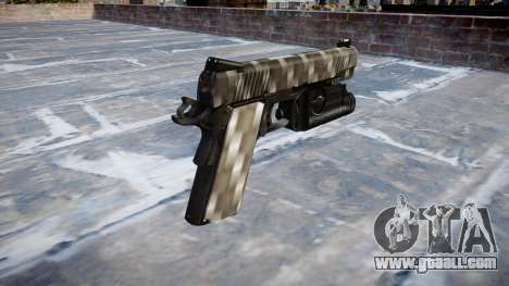 Gun Kimber 1911 Carbon Fiber for GTA 4 second screenshot