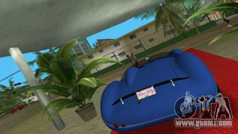 Aston Martin DBR1 for GTA Vice City left view