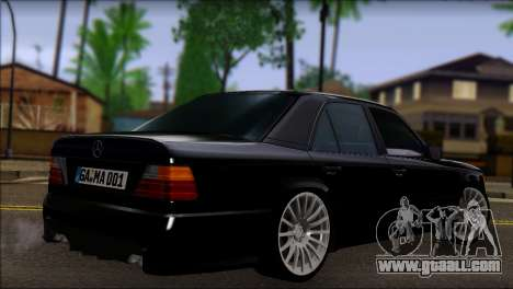 Mercedes-Benz E-Class W124 AMG for GTA San Andreas left view