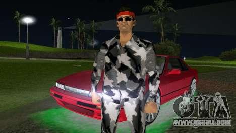 Camo Skin 13 for GTA Vice City third screenshot