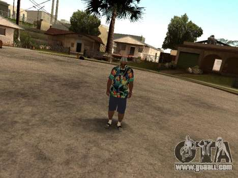 Hawaiian shirt like max Payne for GTA San Andreas forth screenshot