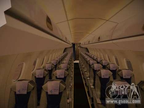 Embraer E190 TRIP Linhas Aereas Brasileira for GTA San Andreas side view