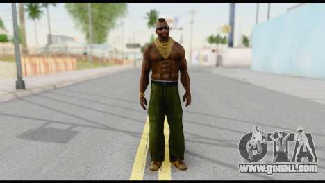 MR T Skin v3 for GTA San Andreas