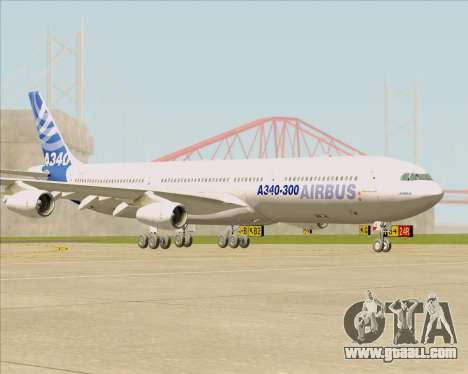 Airbus A340-311 House Colors for GTA San Andreas left view