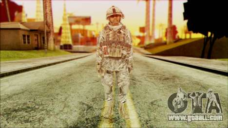 Ranger (CoD: MW2) v5 for GTA San Andreas