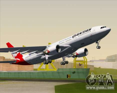 Airbus A330-200 Qantas for GTA San Andreas interior