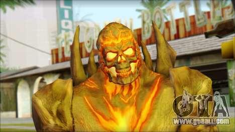 Dark Kahn from MK vs DC for GTA San Andreas third screenshot