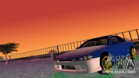 Nissan Silvia S15 TUNING JDM for GTA Vice City left view