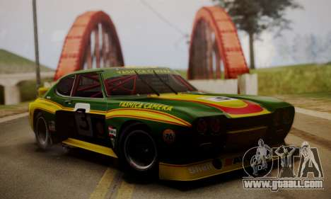 Ford Capri RS Cosworth 1974 Skinpack 2 for GTA San Andreas right view