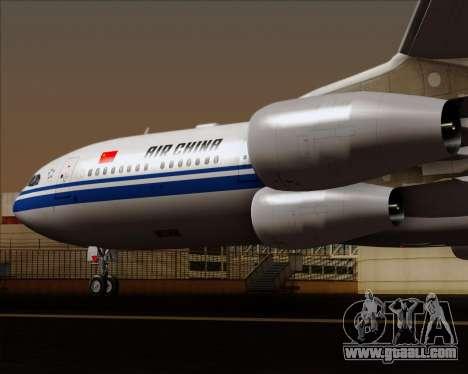 Airbus A340-313 Air China for GTA San Andreas bottom view