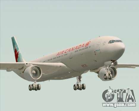 Airbus A330-300 Air Canada for GTA San Andreas