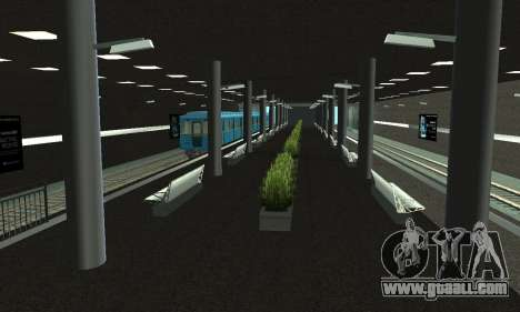 A new metro station in San Fierro for GTA San Andreas