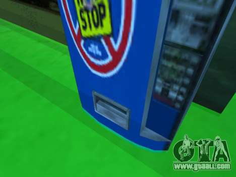 Machine with drink Non Stop from Stalker for GTA San Andreas third screenshot