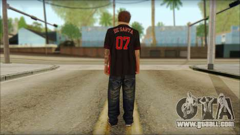Jimmy De Santa for GTA San Andreas second screenshot