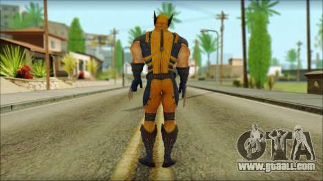 Wolverine Deadpool The Game Cable for GTA San Andreas second screenshot