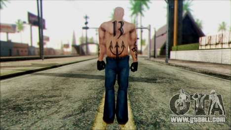 Manhunt Ped 5 for GTA San Andreas second screenshot