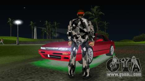 Camo Skin 13 for GTA Vice City second screenshot