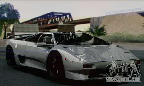 Lamborghini Diablo SV 1997 for GTA San Andreas